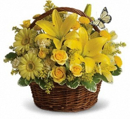 Basket of Wishes from Rose Garden Florist in Barnegat, NJ