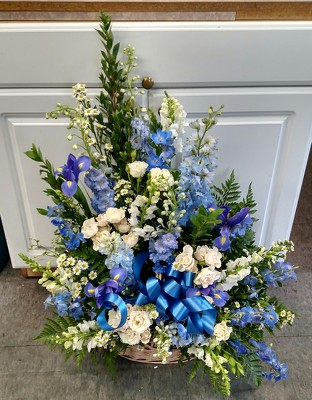 Beautiful in Blue from Rose Garden Florist in Barnegat, NJ