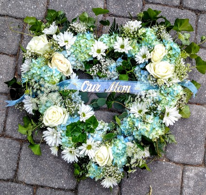 Blue Whispers Heart from Rose Garden Florist in Barnegat, NJ