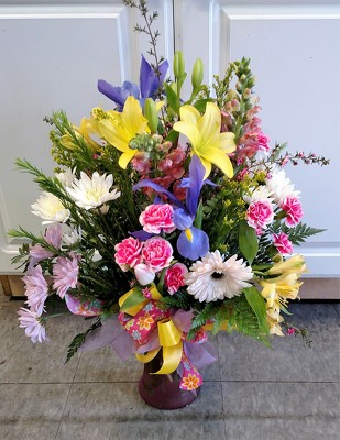 Brightly Blooming from Rose Garden Florist in Barnegat, NJ