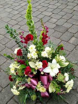 Burgundy Blooms from Rose Garden Florist in Barnegat, NJ