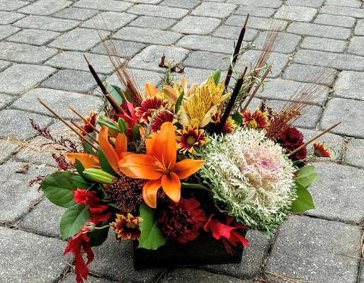 Fall Treasure from Rose Garden Florist in Barnegat, NJ