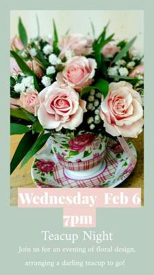Teacup Class from Rose Garden Florist in Barnegat, NJ