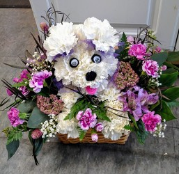 Flower Puppy Power from Rose Garden Florist in Barnegat, NJ
