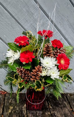 Holiday Wishes from Rose Garden Florist in Barnegat, NJ