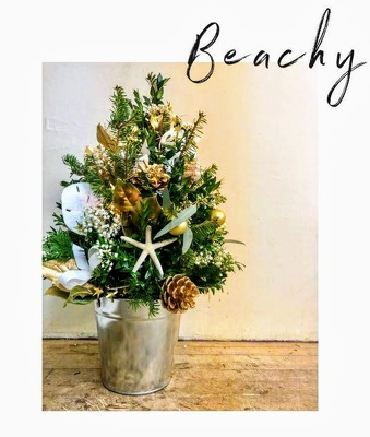 Christmas at the Beach from Rose Garden Florist in Barnegat, NJ