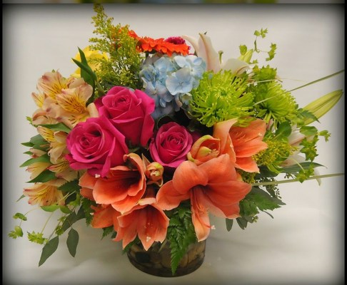 Luscious Summer from Rose Garden Florist in Barnegat, NJ