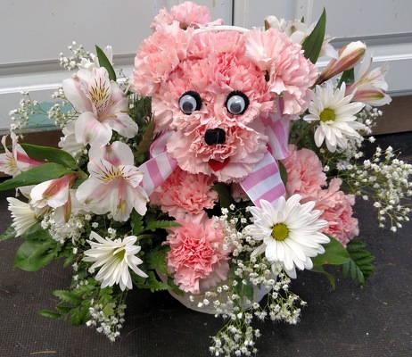 Precious Pink Pup from Rose Garden Florist in Barnegat, NJ