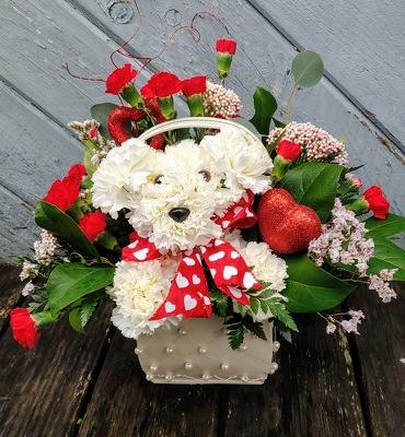 Puppy Love from Rose Garden Florist in Barnegat, NJ