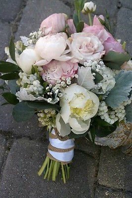Burlap and Satin from Rose Garden Florist in Barnegat, NJ