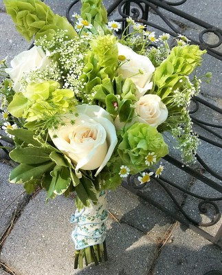 Irish Bells Bouquet from Rose Garden Florist in Barnegat, NJ