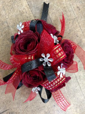 Red Roses Corsage from Rose Garden Florist in Barnegat, NJ