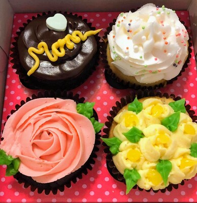 Smallcakes Cupcakes for Mom from Rose Garden Florist in Barnegat, NJ