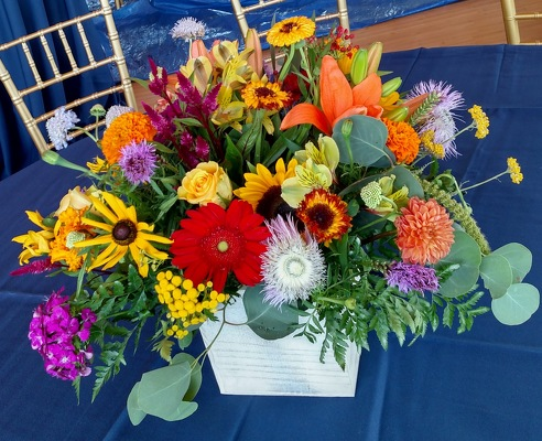 Summery Jersey Wishes from Rose Garden Florist in Barnegat, NJ