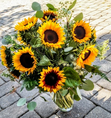 Sunflower Splendor from Rose Garden Florist in Barnegat, NJ