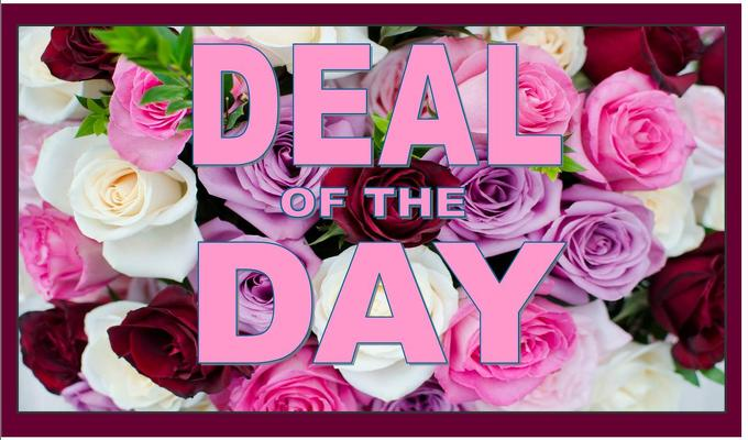Deal of the Day - Valentine's Edition!  from Rose Garden Florist in Barnegat, NJ