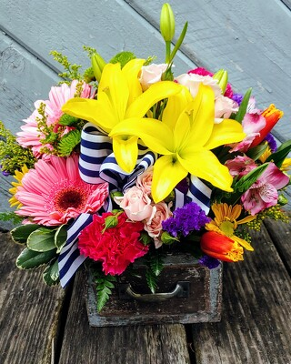 Vibrantly Vintage from Rose Garden Florist in Barnegat, NJ