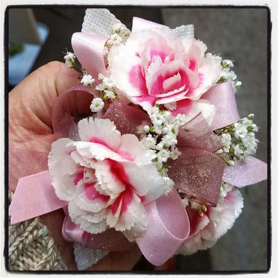 Miniature Carnation Corsage from Rose Garden Florist in Barnegat, NJ