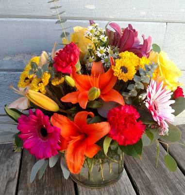 Surf City Sunshine from Rose Garden Florist in Barnegat, NJ